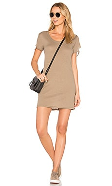 Layla Tee Dress in Rock