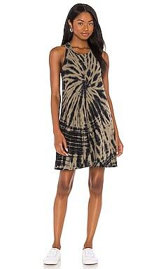 Lulu A-line Mini Tie Dye Dress Nation LTD $36