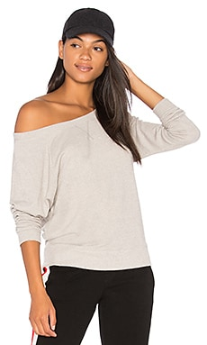 Raglan Off the Shoulder Sweater