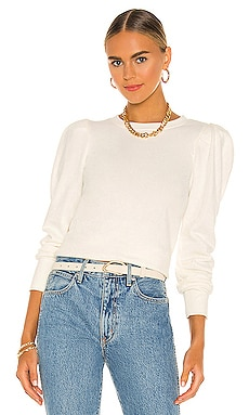 Nikka Pleat Shoulder Sweatshirt Nation LTD $158