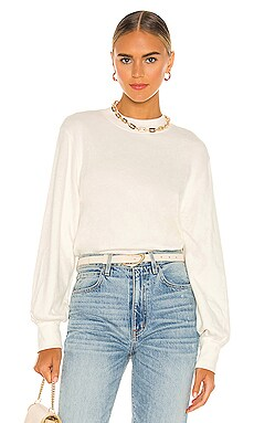 Suky Mock Neck Sweatshirt Nation LTD $154