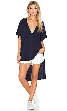 Nation LTD Santa Cruz Poncho in Navy