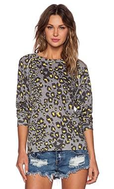 Nation LTD Jillian Sweatshirt in Leopard