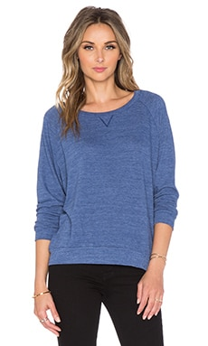 Nation LTD Raglan Sweatshirt in Indigo