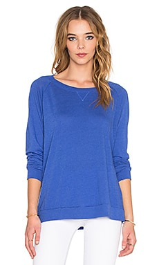 Nation LTD Raglan Sweatshirt in Royal Blue