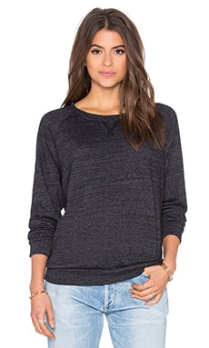 Raglan Sweatshirt in Charcoal