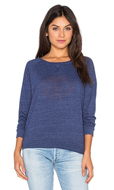Ojo Raglan Sweatshirt in Navy
