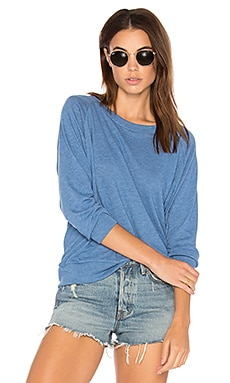 Raglan Sweatshirt in Denim