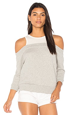 Highland Park Cold Shoulder Sweatshirt