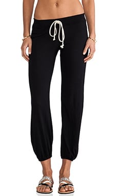 Nation LTD Medora Capri Sweatpants in Black