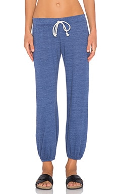 Nation LTD Medora Capri Sweatpant in Indigo