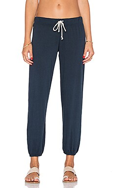 Nation LTD Medora Capri Sweatpant in Eclipse