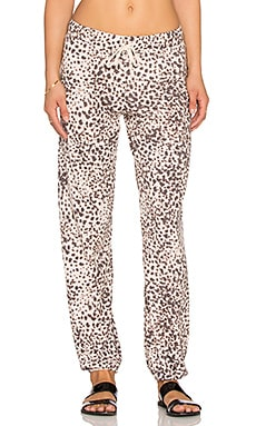 Nation LTD Cheetah Palm Bay Sweatpant in Print