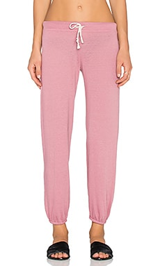 Nation LTD Medora Capri Sweatpant in Mauve