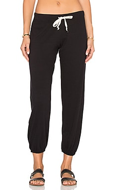 Nation LTD Medora Capri Sweatpant in Black
