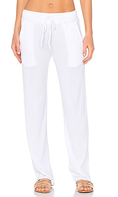 Nation LTD Twiggy Beach Pant in White