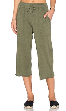 Nation LTD Candy Culottes Pant in Palm
