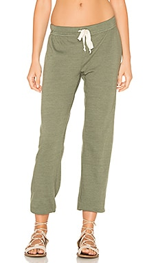 Medora Capri Sweatpant in Palm