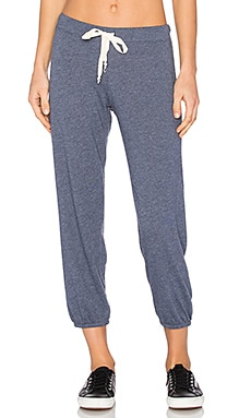 Medora Capri Sweatpant in Deep Blue