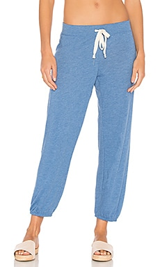 Medora Capri Jogger in Denim
