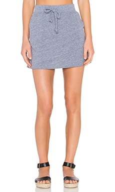 Nation LTD Melissa Mini Skirt in Heather Grey