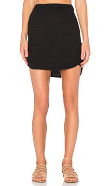 Nation LTD Shawna Mini Skirt in Black