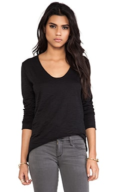 Nation LTD Santa Rosa Burnout Tunic in Black