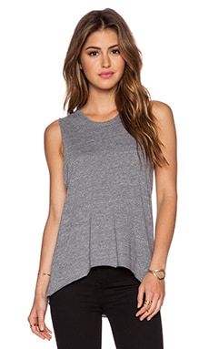Nation LTD Crescent Heights Tank in Heather Grey
