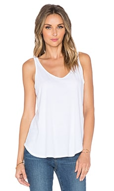 Nation LTD Classic Jersey Myrtle Beach Tank in White