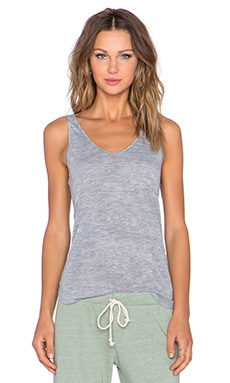 Nation LTD Burnout Jersey Myrtle Beach Tank in Heather Grey