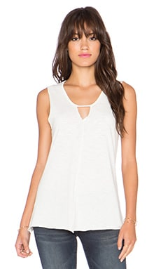 Nation LTD Darcey Triangle Tank in White