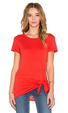 Nation LTD Nadja Tee in Hot Coral
