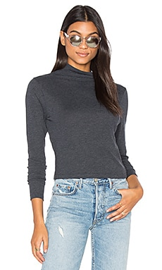 Allyn Mock Turtleneck Top
