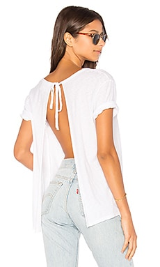 Winona Sliced Tie Back Tee