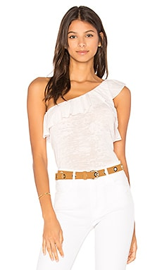 Raquel One Shoulder Ruffle Top