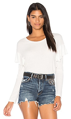 Tribeca Ruffle Sleeve Top
