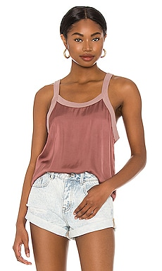 Zora Relaxed Scoop Tank Nation LTD $110
