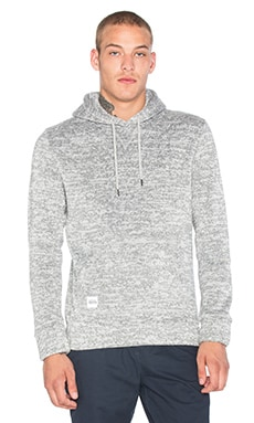 Native Youth Bonded Knit Hoodie in Grey