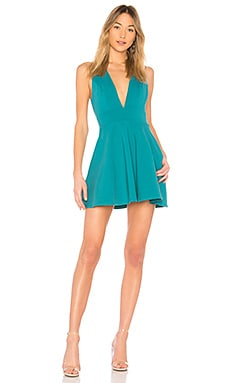 Wendy Fit & Flare Dress in Blue. - size S (also in M,XS,XXS) by the way.
