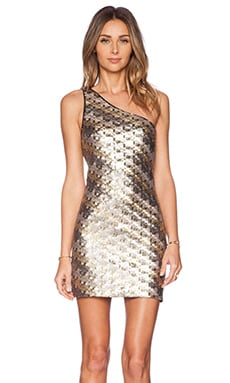 x Naven Twins Lure Dress en Sequins