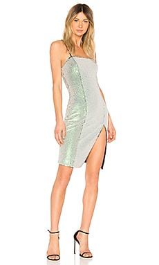 Купить Облегающее по фигуре мини-платье cosmopolitan - NBD, С блёстками и пайетками, Китай, Белый