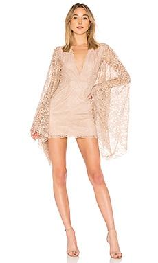 Купить Платье с длинным рукавом dacquiri - NBD розового цвета