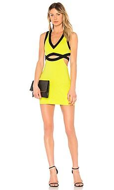 Купить Обтягивающее платье girl bye - NBD зеленого цвета