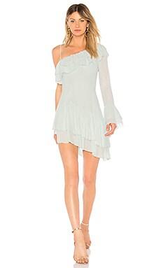 Купить Платье с одним рукавом young ma - NBD нежно-голубого цвета