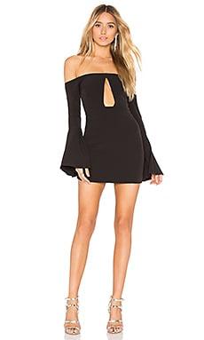 Купить Мини-платье с длинным рукавом alaia - NBD, Коктейльное, Китай, Черный