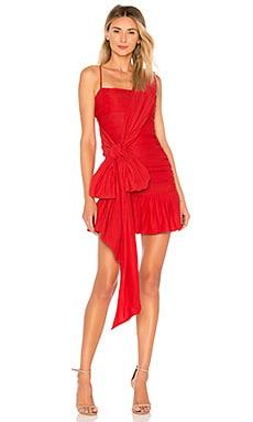 Купить Мини платье richy rich - NBD красного цвета