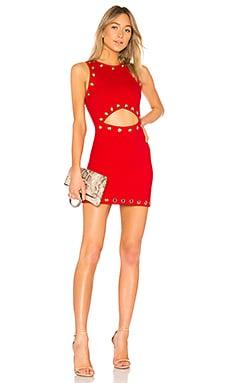 Купить Платье road rules - NBD красного цвета