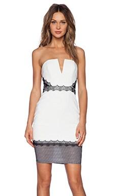 NBD Best in Sass Midi Dress in Ivory