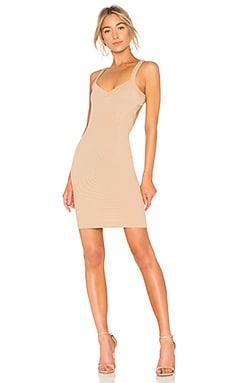 Купить Платье миди tracy - NBD, С вырезом, Турция, Цвет загара
