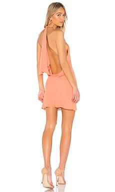 Купить Мини платье с открытой спиной flora - NBD, Китай, Мандариновый